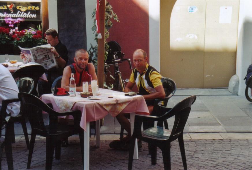 Eiscafé mit Bruno in Sterzing