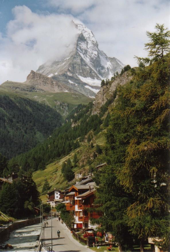 Zermatt mit Matterhornblick