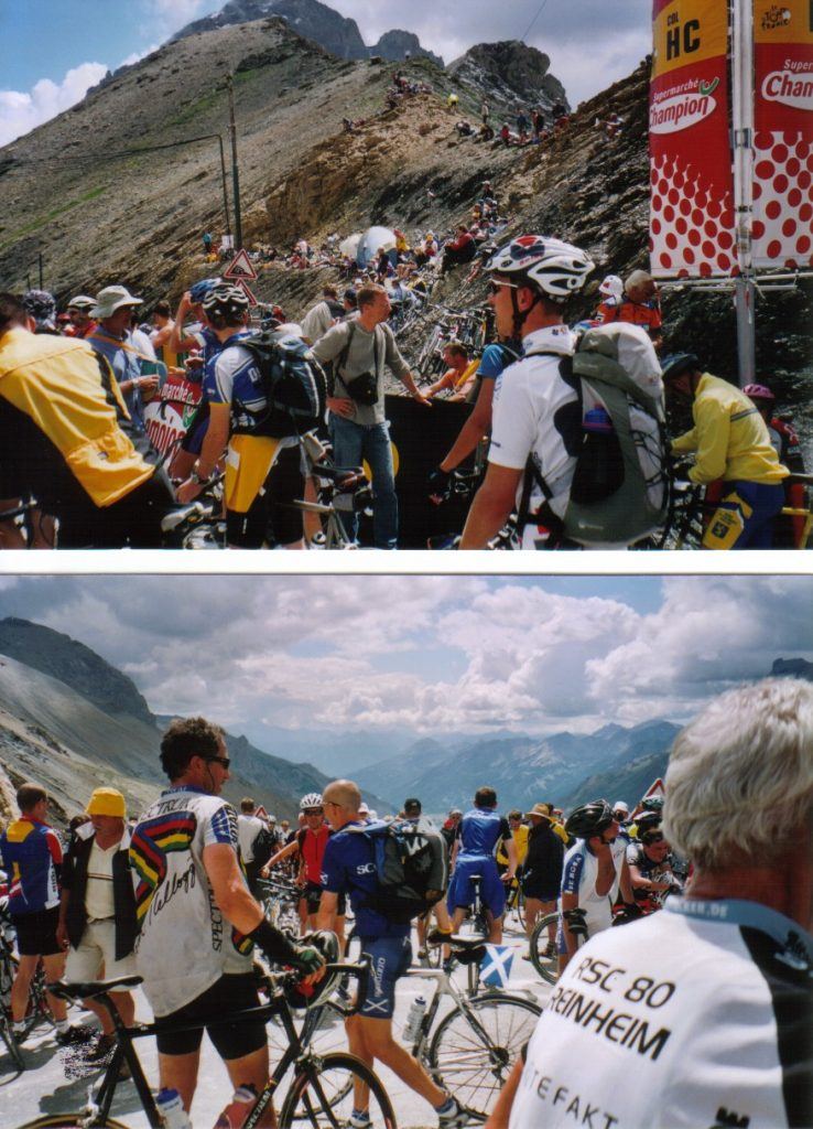 Tour deFrance, Trubel am Galibier