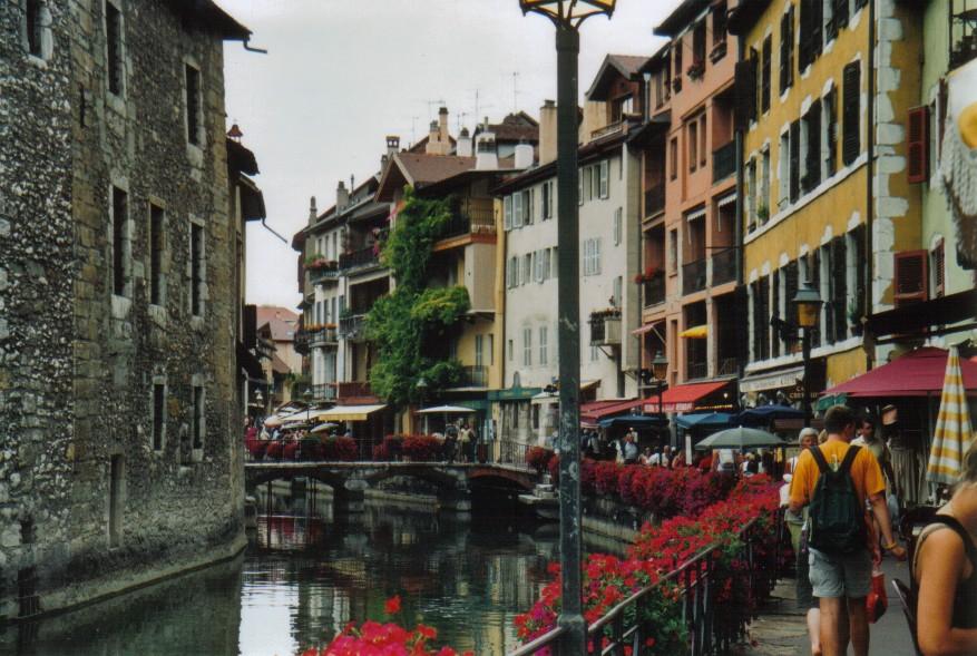 Annecy, Kanalstraße