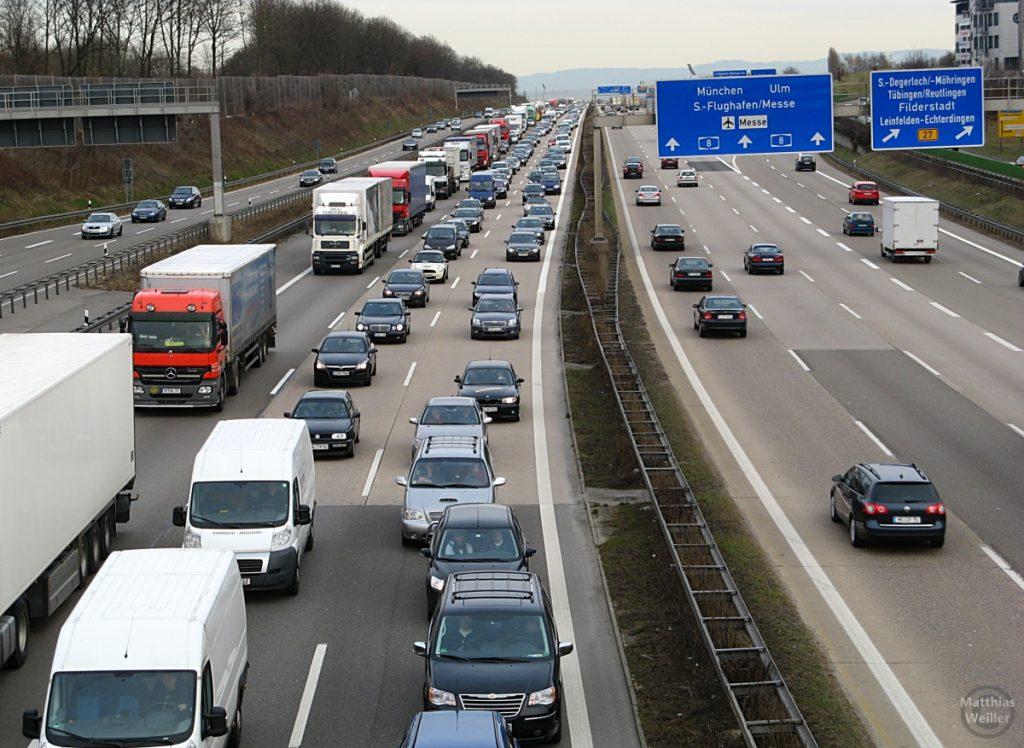Autobahn Echterdingen, Teil 1