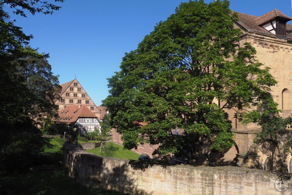 Blick in den Hinterhof von Kloster Maulbronn