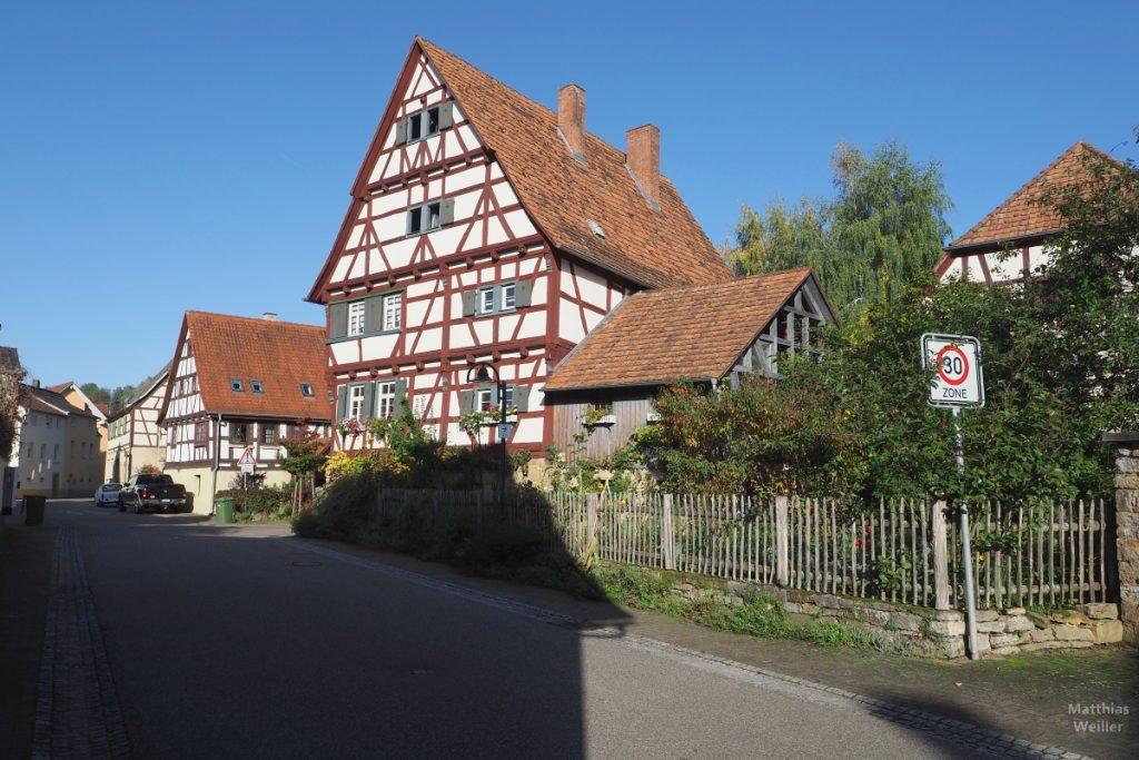 Fachwerk in Bauerbach
