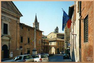 Stadtbild Urbino