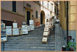 Künstlertreppe in Ancona