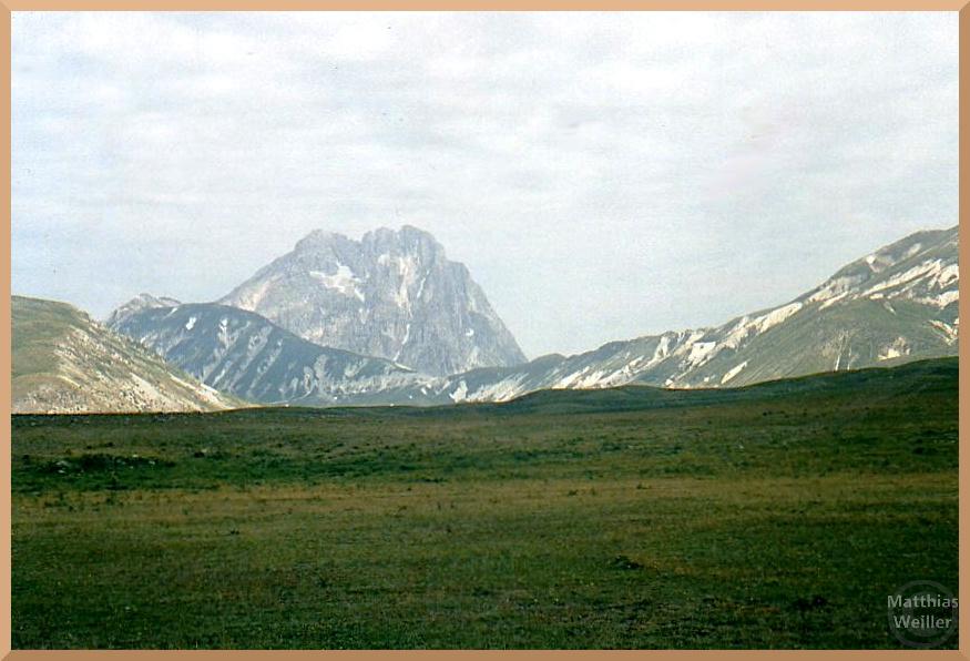 Corno Grande, dolmitenähnlicher, markanter Berg des Gran Sasso