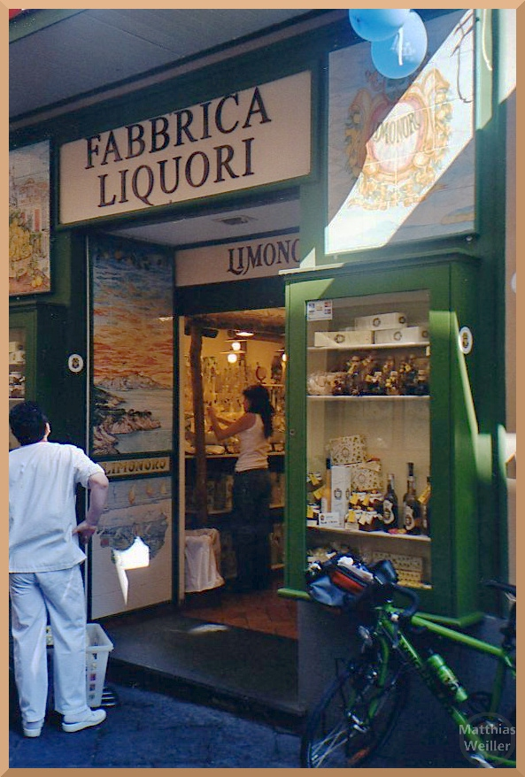 Likörladen in Sorrento