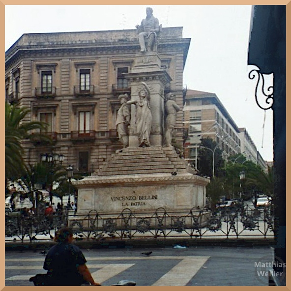 Denkmal Vicenzo Bellini, Catania
