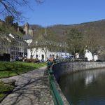 Promenade Esch-Sauer mit Burgberg