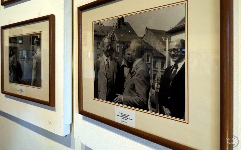 Bildergalerie Besucher Vianden, hier mit Willy Brandt