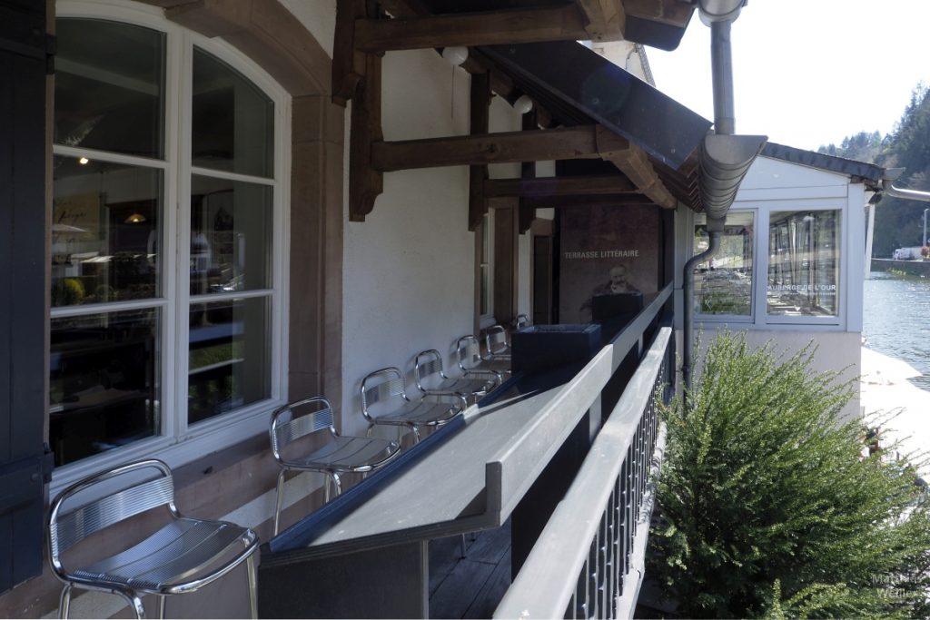 Terrasse Literaturcafé Vianden