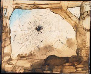 Spinnennetzbild von Victor Hugo