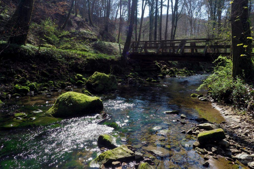 Hlozbrücke Müllerthal, Schwarze Ernz