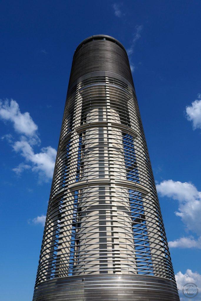 Aquatower Berdorf, perspektivisch von unten