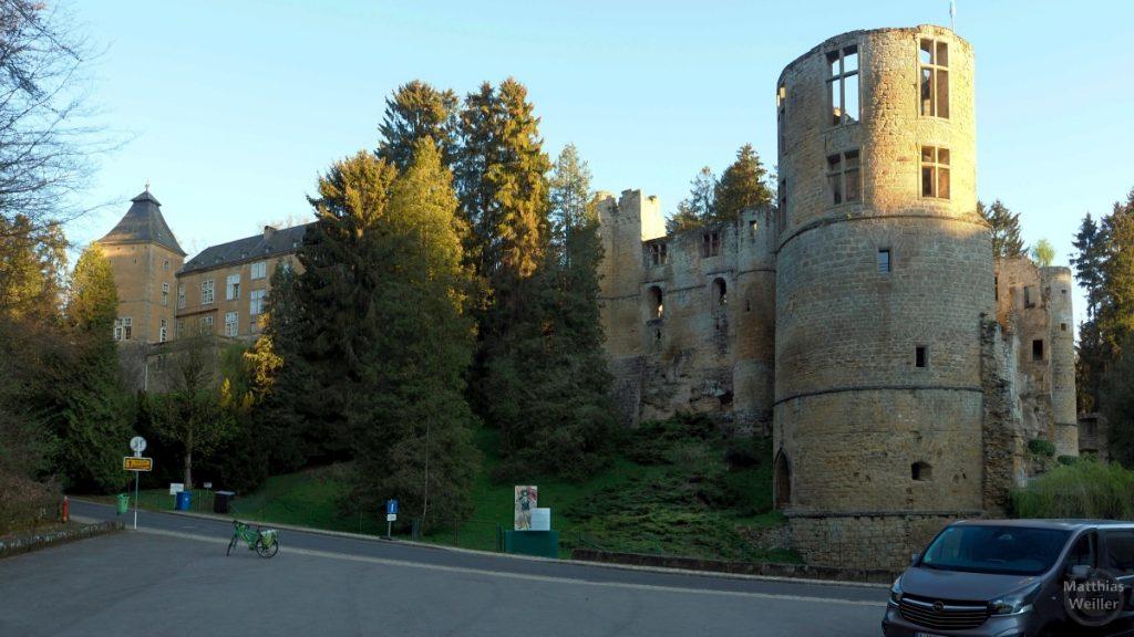 Burg und Renaissance-Schloss Beaufort/Befort