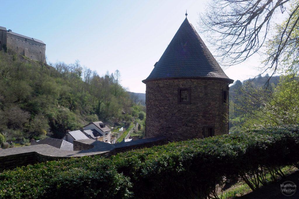 Rundturm mit Kegeldach, Vianden