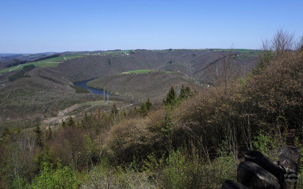 Our-Schleife, von Aussichtspunkt oberhalb Bivels
