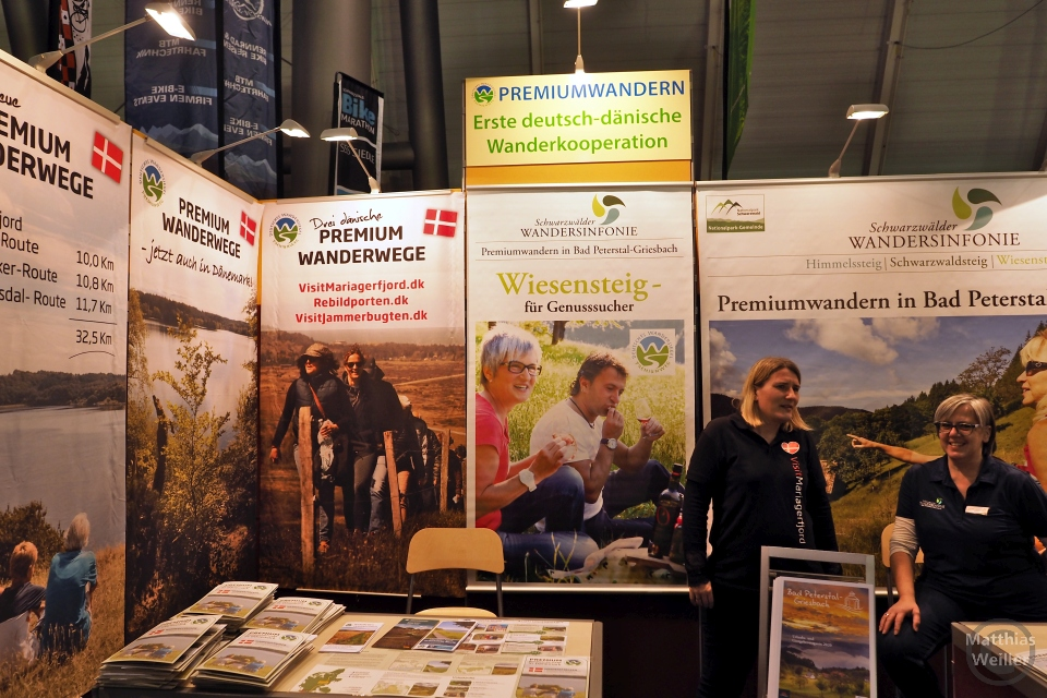 Messestand Premiumwanderwege