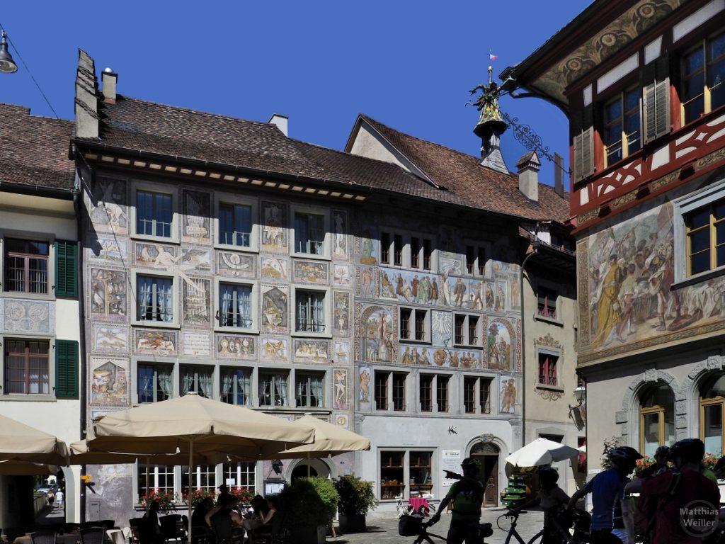 Fassadenmalerei in Stein am Rhein