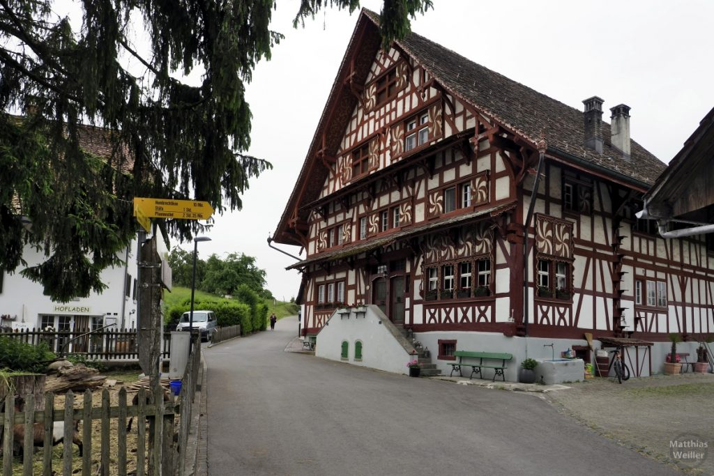 Fachwerkbauernhaus beim Lützelsee
