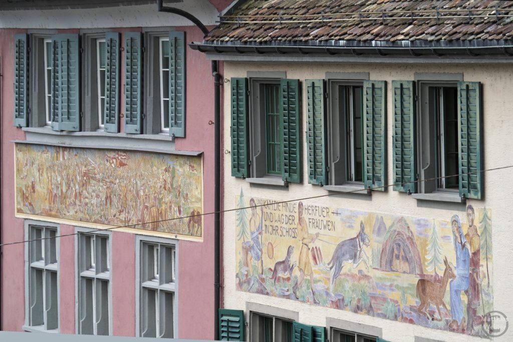 Fassadenmalerei Rapperswil