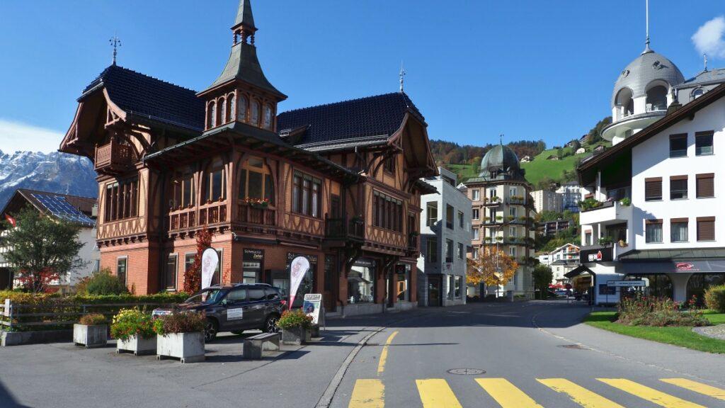 Bell-époque-Gebäude in Engelberg