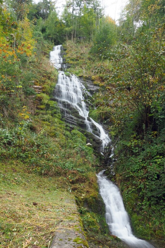 Wasserfall, Hochformat