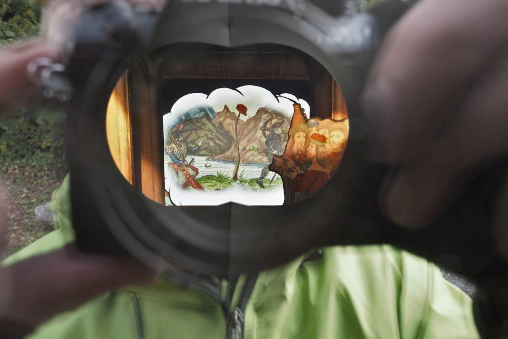 Bild von Geschichtsvideo an Infopunkt/Wilhelm-Tell-Geschichte