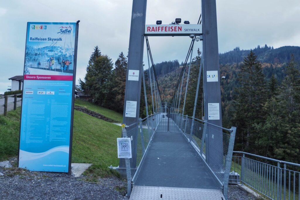 Eingang Hänegbrücke Mostelberg