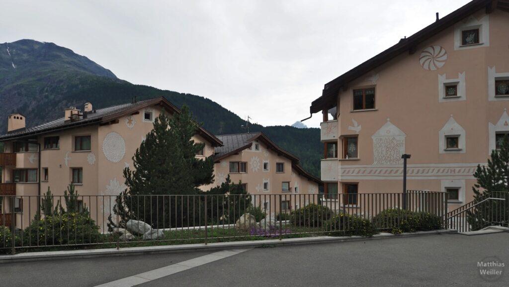 Engadinerhaus, modern, Pontresina