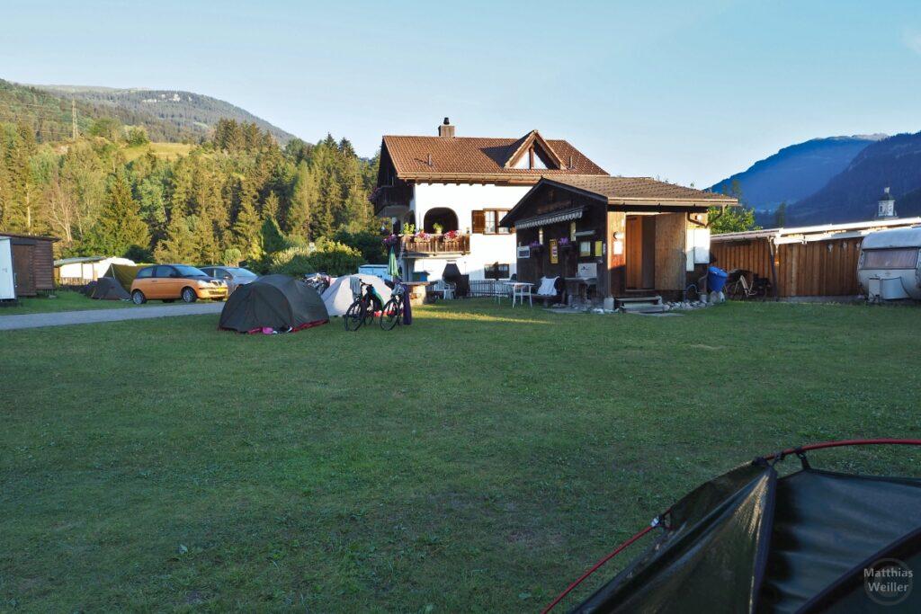 Campingplatz Tiefencastel