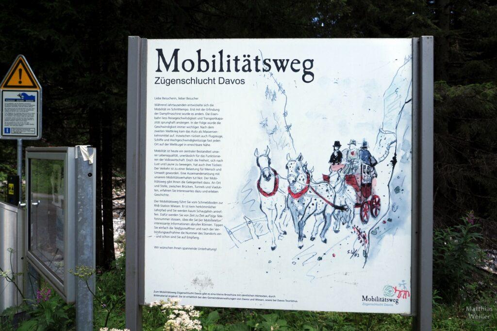 Infotafel Mobilitätsweg