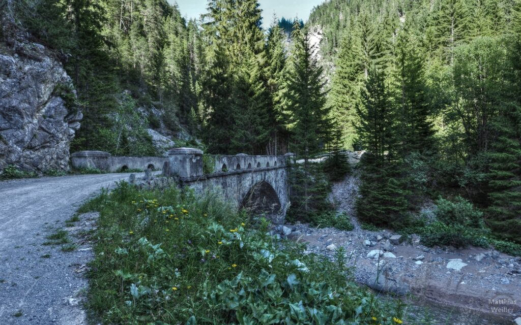 Alte Steinbrücke Zügenschlucht