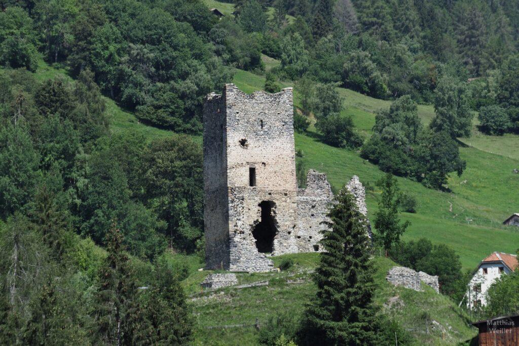 Burgruine Strassberg in Malix