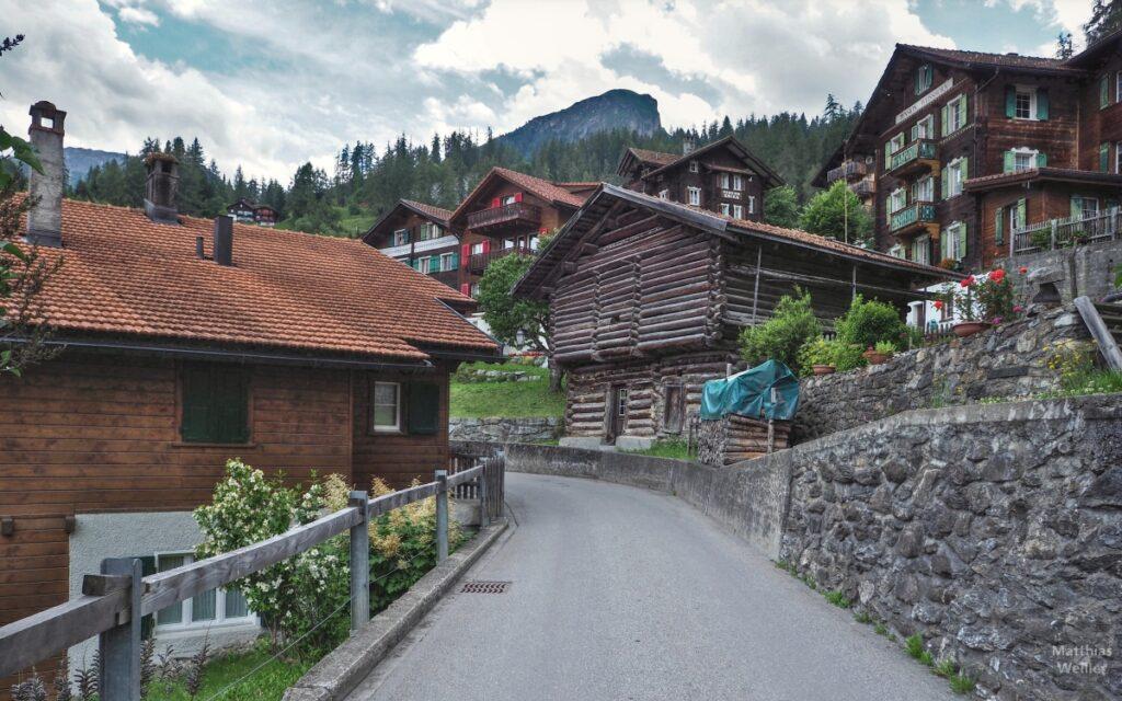 Bergdorfkulisse Tschiertschen