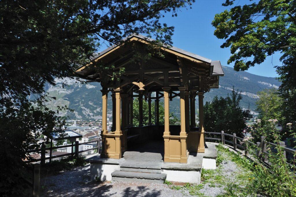 Pavillon über Chur