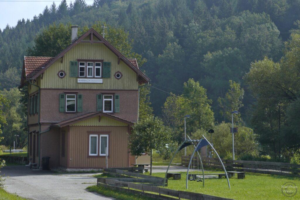Bahnhof Marbach