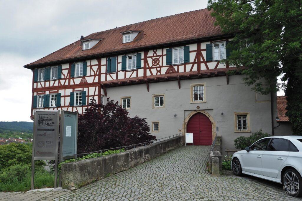 Fachwerk-Schloss Gomaringen