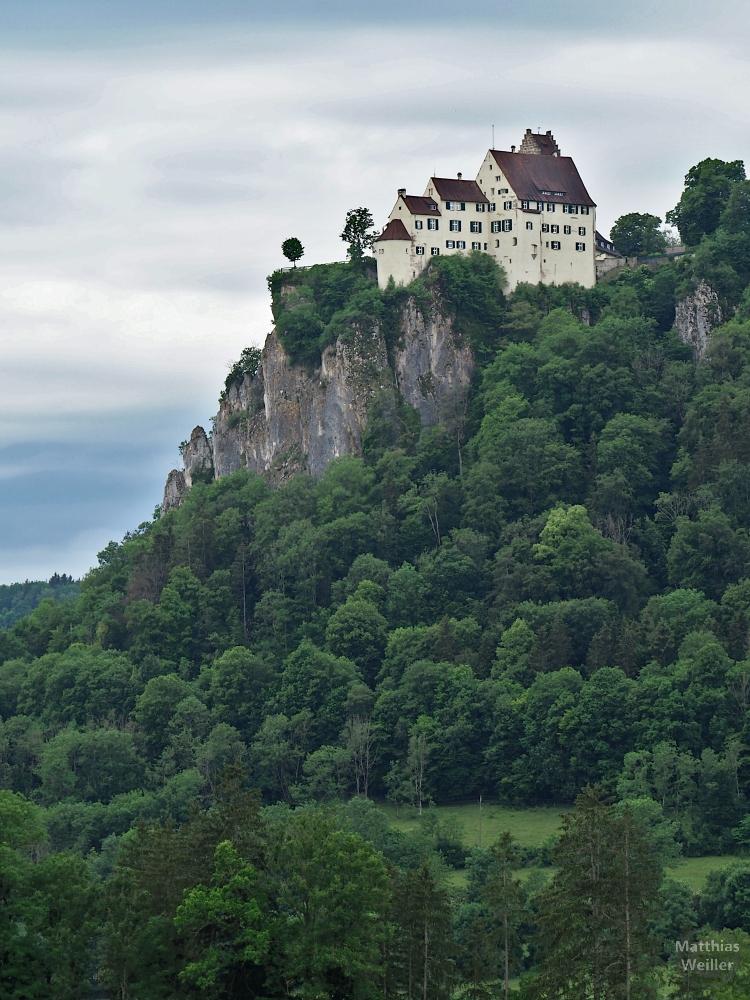 Schloss Werenwag auf Felssporn