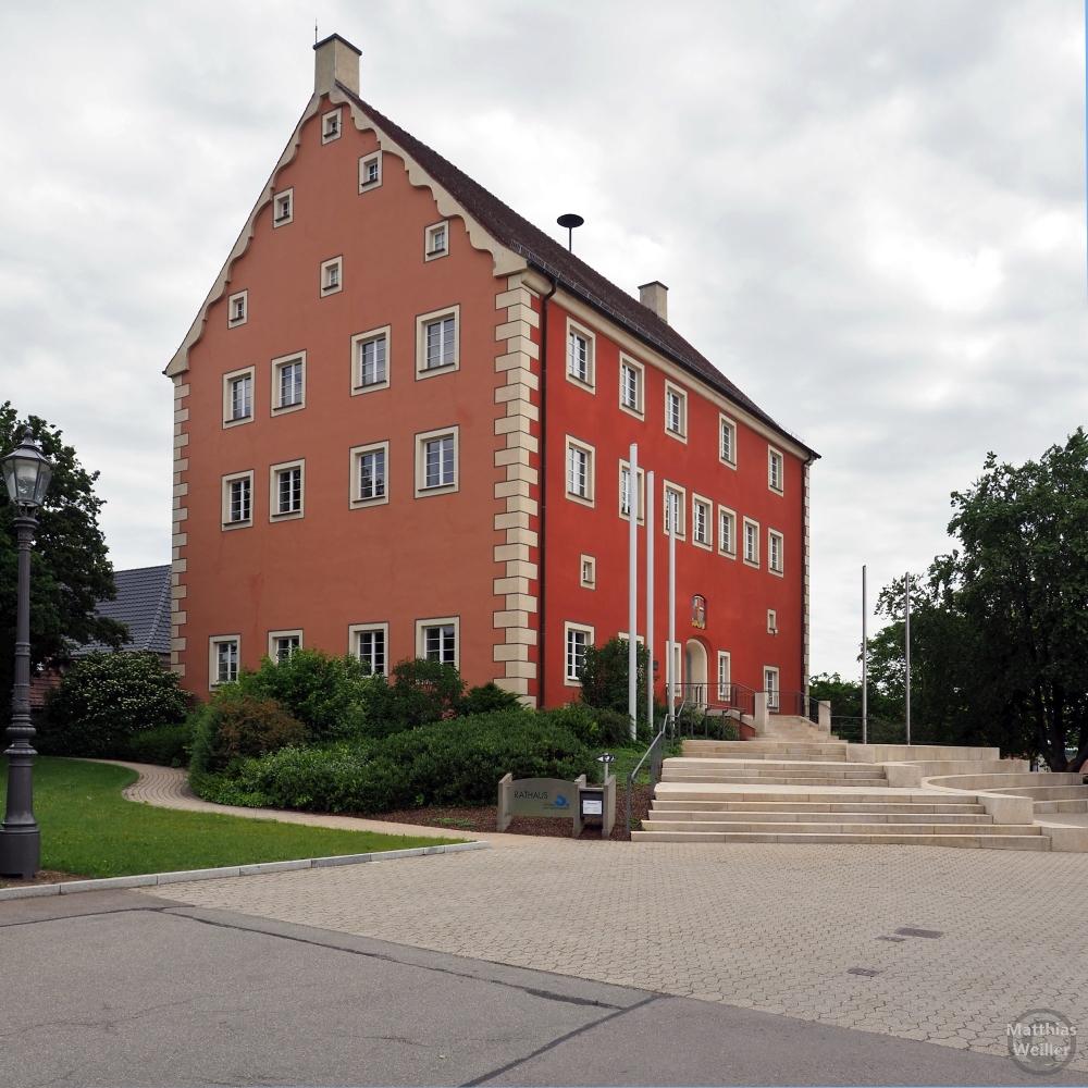 Rotes Giebelhaus (Rathaus Stetten am Markt)